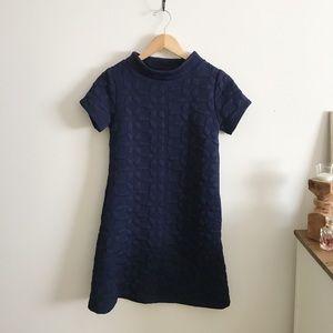 Anthropologie Tabitha navy blue dress